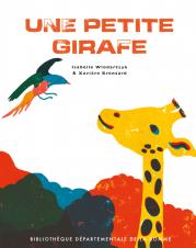 Une petite girafe